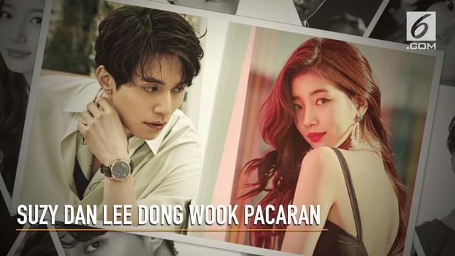 Beda 13 tahun, tidak menghalangi Suzy Bae dan Lee Dong Wook untuk menjalin cinta.