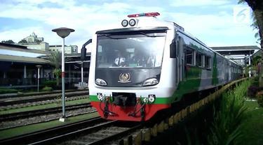 PT KAI meluncurkan rangkaian kereta baru, Kereta Pangandaran. Kereta ini nantinya akan melayani rute Gambir-Banjar.