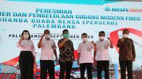 BGR Logistics resmikan Depo Container dan Gudang Modern di Palembang. (Dok: BGR)