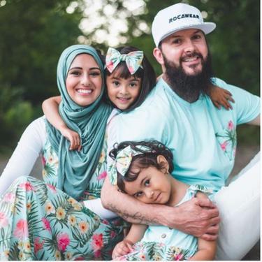 Pasutri Kanada Membuat Hijab Ramah Lingkungan