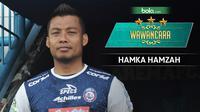 Wawancara Hamka Hamzah (Bola.com/Adreanus Titus)