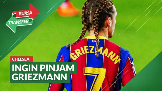 Berita video Bursa Transfer kali ini membahas Chelsea yang dikabarkan ingin meminjam salah satu bintang Barcelona, Antoine Griezmann.