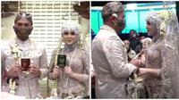 Pernikahan Kesha Ratuliu mengusung konsep adat Sunda dan dipenuhi momen haru serta bahagia. (Sumber: YouTube/Kesha Adhi)
