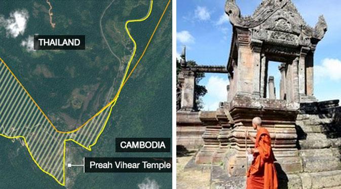 Thailand Vs Kamboja Rebutan Kuil, Mahkamah PBB Memutuskan... - Global  Liputan6.com
