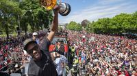 Jadi Juara NBA, Raptors Diarak Keliling Kota Toronto (AP)