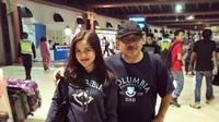 Kenangan manis Tasya Kamila bersama sang ayah (foto: Instagram)
