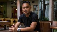 Bagi Dedi Kusnandar kembali ke Persib Bandung merupakan mimpinya yang terwujud setelah sebelumnya sempat hijrah ke Liga Malaysia. (Bola.com/Vitalis Yogi Trisna)