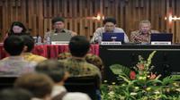 RUPSLB PT Elang Mahkota Teknlogi Tbk pada Rabu (10/1/2018) (Foto: Liputan6.com/Faizal Fanani)