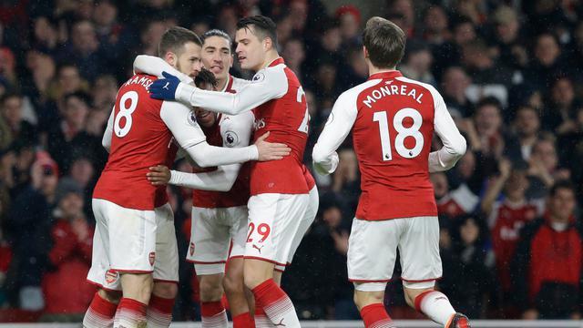 Aaron Ramsey Hattrick, Arsenal Pesta Gol 5-1 Atas Everton