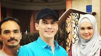 Atalarik Syach dan Attar Syach sempatkan mengunjungi Siti Nurhaliza sebelum puasa. (Instagram)