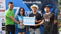 TNI-Mandalika International Run 2018 menggelar Lombok Charity Run di Jakarta (istimewa)