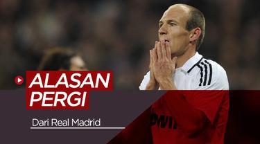 Berita video alasan Arjen Robben memutuskan untuk pergi dari Real Madrid sepuluh tahun lalu.