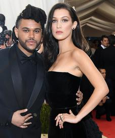 Bella Hadid dan The Weeknd (Larry Busacca / AFP)
