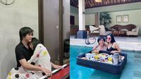 Momen Kemesraan Kevin Aprilio dan Vicy Melanie Setelah Menikah. (Sumber: Instagram.com/kevinaprilio)
