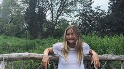 Model yang berumur 22 tahun ini merupakan anak dari pasangan mantan pemain bintang baseball Jose Canseco dan model Jessica Sekely. (Liputan6.com/IG/@josiecanseco)