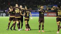 PSM Makassar mengalahkan Persib Bandung 3-1 di Stadion Andi Mattalata, Mattoangin, Minggu (18/8/2019). (Bola.com/Abdi Satria)