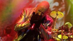 Konser ini ibarat kado buat Presiden Joko Widodo, yang diketahui pernah menonton konser Judas Priest di Singapura pada Februari 2012 lalu. (instagram/JudasPriest)