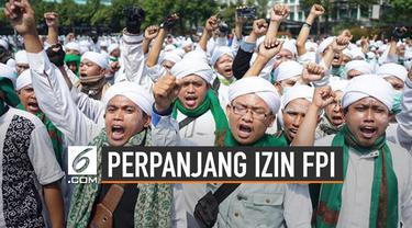 FPI tengah mengurus perpanjangan izin ormas. Kemendagri mengungkap lima syarat yang belum dipenuhi pihak FPI.