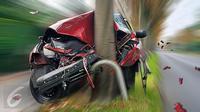 Ilustrasi Foto Kecelakaan Mobil (iStockphoto)