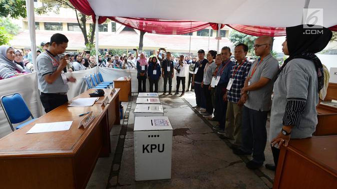 Ini Tata Cara Pencoblosan Pemilu 2019 - Pilpres Liputan6.com