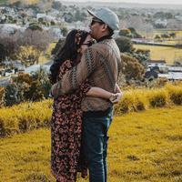Mutia Ayu dan Glenn Fredly (Instagram/mutia_ayuu)