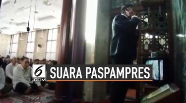 Akun Youtube Arfa Zahra mengunggah video azan yang dikumandangkan oleh Paspampres.