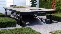 Parkir mobil bawah tanah. (Cardok)