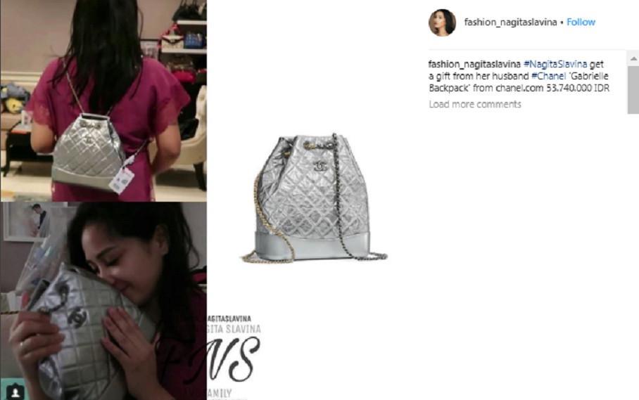 [Foto: Instagram fashion Nagita]