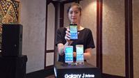 Samsung umumkan seri Galaxy J2 Prime, J5 Prime dan J7 Prime. (Liputan6.com/ Agustin Setyo Wardani)