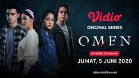 Vidio original series Omen episode terakhir akan tayang pada Jumat, 5 Juni 2020. (credit: Vidio)