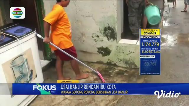 Fokus Pagi menyajikan beberapa tema berita sebagai berikut, Pabrik Pengolahan Kayu Terbakar, Banjir Melanda Pantura Jawa Barat, Pemasok Ekstasi Ke Ridho Rhoma Diburu Polisi, Berburu Ikan Bandeng Jumbo Untuk Imlek.