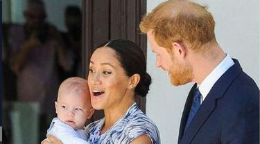 Pangeran Harry dan Meghan Markle telah menamai putra mereka Archie Harrison Mountbatten-Windsor.