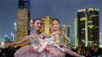 Jakarta menjadi kota pembuka kejuaraan balet bergengsi taraf internasional Asian Grand Prix (AGP) dari kompetisi regional di 10 kita di Asia Pasifik (Liputan6.com/Pool/Ballet.id)