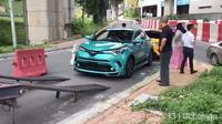 Toyota C-HR masuk truk towing di Malaysia. (Instagram @ohemgis)