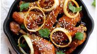 Menu berikut merupakan perpaduan masakan Indonesia dengan oriental