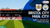 Piala Liga Inggris_Bristol City Vs Manchester City (Bola.com/Adreanus Titus)