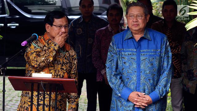 Prabowo Sindir Presiden Sebelum Jokowi, Petinggi Demokrat WO