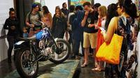 Motor custom yang terinspirasi jalak Bali (Mastom)