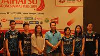 Sebanyak 267 atlet dari 20 negara bakal bersaing di Indonesia Masters 2019 yang berlangsung pada 22-27 Januari 2019. (Bola.com/Zulfirdaus Harahap)
