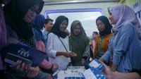 Dalam rangka memperkenalkan tabungan BritAma Muda, PT Bank Rakyat Indonesia (Persero) Tbk gencar mendekatkan diri pada generasi millenials