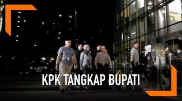 KPK menetapkan Bupati Kepulauan Talaud Sri Wahyumi Maria Manalip (SWM) bersama dua orang lainnya sebagai tersangka kasus suap.