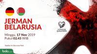 Kualifikasi Piala Eropa 2020 - Jerman Vs Belarusia (Bola.com/Adreanus Titus)