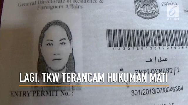 TKW Indonesia asal Karawang ditetapkan menjadi tersangka dalam kasus pembunuhan di Abu Dhabi. Akibatnya, ia terancam hukuman mati.