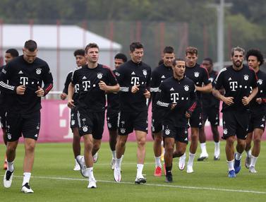 Bayern Munchen Bersiap Jelang Hadapi Schalke di Laga Perdana Liga Jerman 2020/2021