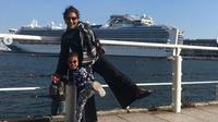 Susi Pudjiastuti bersama cucu di Yokohama, Jepang. (dok.Instagram @susipudjiastuti115/https://www.instagram.com/p/B4byNv3HTGF/Henry)