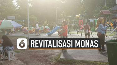 Taman ini menjadi salah satu solusi yang dipilih oleh masyarakat Jakarta dan sekitarnya ketika adanya revitalisasi di kawasan Monas.