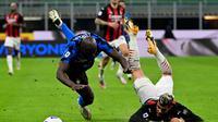 Duel sengit derby Inter Milan vs AC Milan (AFP)