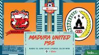 Shopee Liga 1 - Madura United FC Vs PSS Sleman (Bola.com/Adreanus Titus)