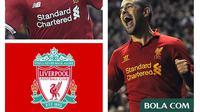 Kolase - Liverpool Philippe Coutinho, Sadio Mane, Joe Cole (Bola.com/Adreanus Titus)