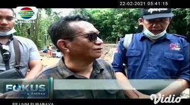 Tim Balai Pelestarian Cagar Budaya (BPCB) Jawa Timur, berupaya menggali sekitar lokasi temuan arca. Hasilnya ditemukan struktur batu bata merah. Pihak BPCB belum bisa memastikan asal zaman benda tersebut.